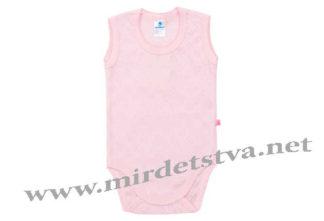 Розовое боди-майка для девочки Minikin 176405