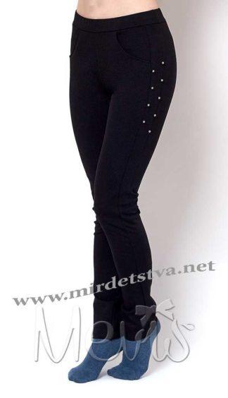 Школьные брюки черного цвета Mevis 2367-02