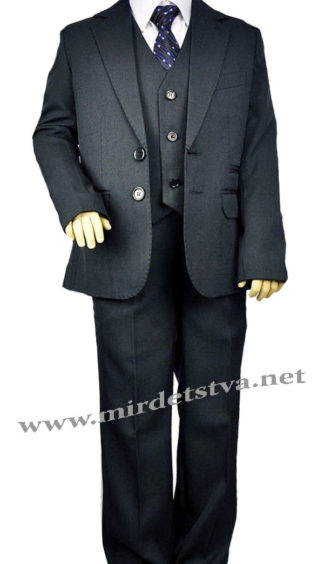 Школьный костюм для мальчика Bozer 791 - это классическая тройкаШкольный костюм для мальчика Bozer 791 - это классическая тройка