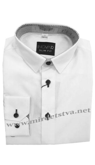 Стильная белая рубашка INGVAR 002/6060