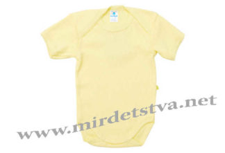 Желтое боди-лодочка Minikin 176805