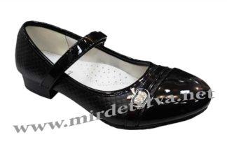 Черные туфли на девочку  CBT.T T551-1