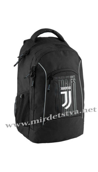 Черный ранец Kite FC Juventus JV18-813L