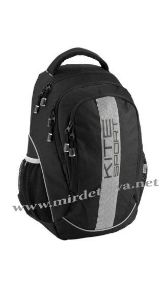 Черный ранец спортивный Kite Sport K18-816L-2