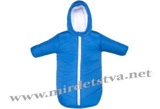 Комбинезон зимний голубой Лоло Goforkid 9805-223-301