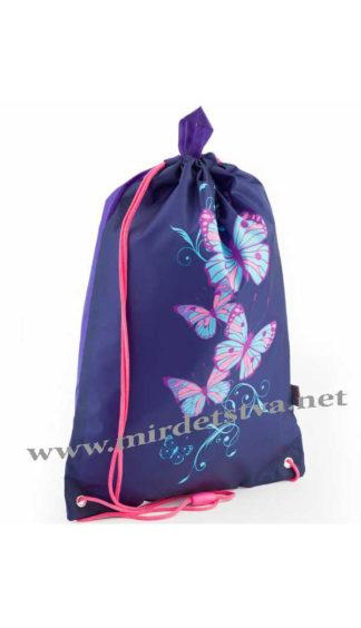 Легкий мешок для сменки Kite Butterfly K18-600S-7