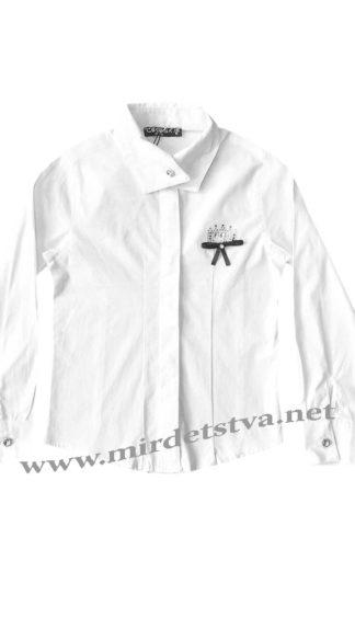 Нарядная хлопковая блузка в школу Cegisa 6545