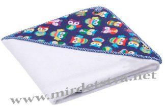 Полотенце с уголком для новорожденного Лулу Goforkid 9116-220-995-1