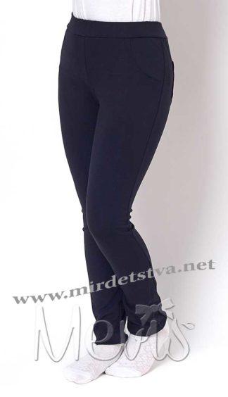 Школьные трикотажные брюки Mevis 2409-01