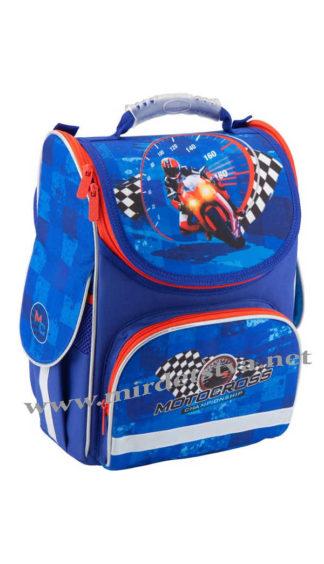 Школьный рюкзак для мальчика Kite Motocross K18-501S-4