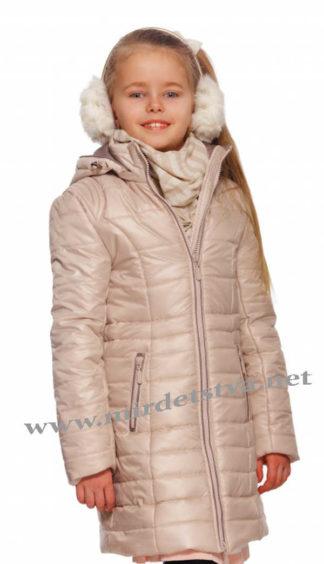 Стильная удлиненная куртка на девочку Alfonso 511 D-085-A