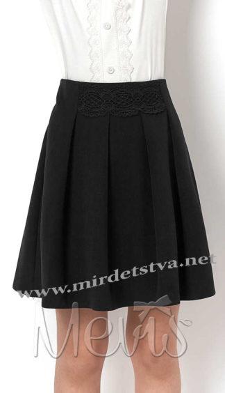 Стильная юбка для школы Mevis 2351-02