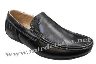 Стильные школьные туфли на мальчика Kangfu C782-2