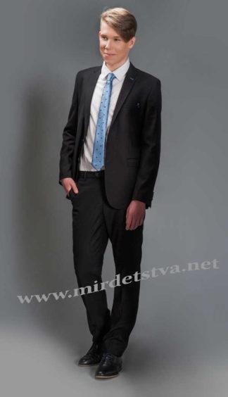 Черный костюм для мальчика Новая Форма Tomas new 70