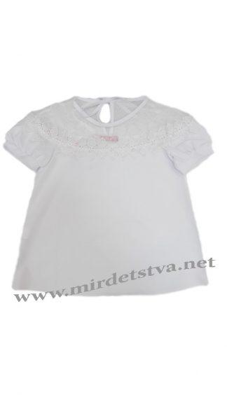 Детская белая блузка Modus Герда F5197