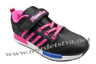 Кроссовки на физкультуру Fieerinni C379 черного цвета