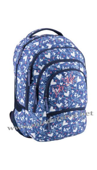 Рюкзак с сердечками Kite Style K18-881L-3
