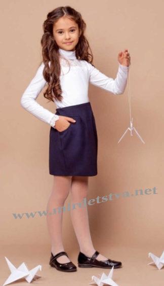 Школьная юбка с карманами Mevis 1686-01
