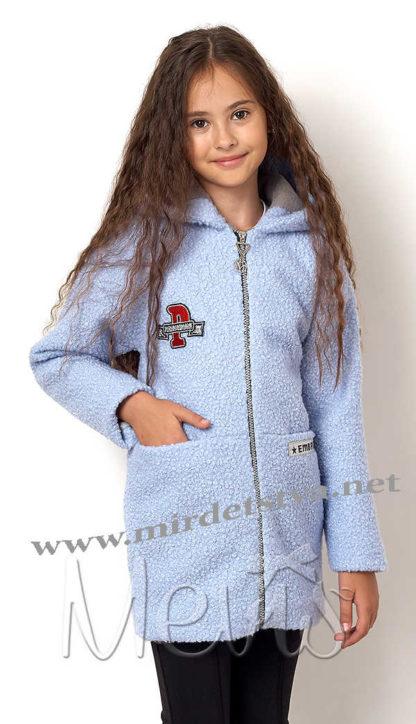 Стильное демисезонное пальто для девочки Mevis 7011-03