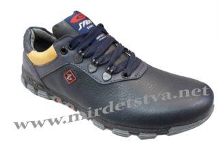 Темно-синие кроссовки на подростка Golovin 830-5-97