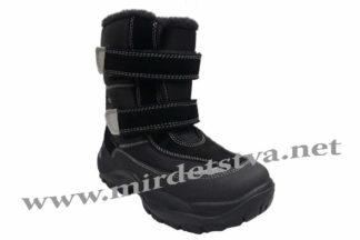 Черные зимние ботинки на мальчика Tigina 97950113