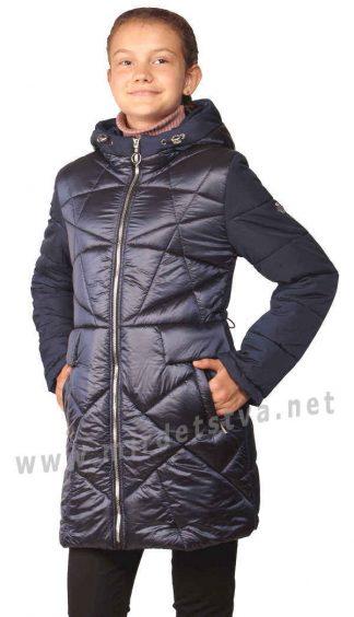 Демисезонное стеганое пальто на девочку Nestta Venesia