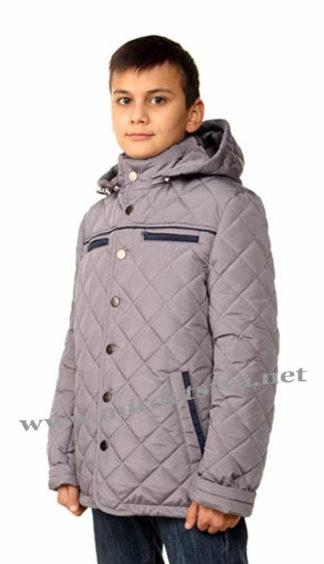 Добротная стеганая демисезонная куртка на мальчика Nestta Oxford