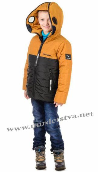 Красивая демисезонная куртка с очками для мальчика Traveler Antmen