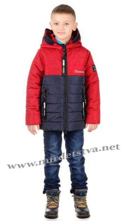 Демисезонная куртка с очками на мальчика Traveler Antmen