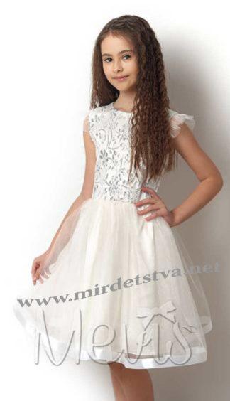 Праздничное платье для девочки Mevis 2418-01