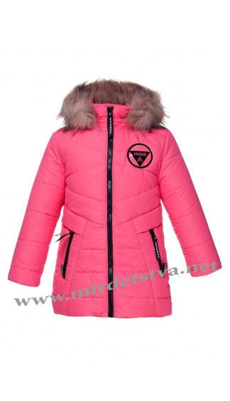 Яркая зимняя куртка на девочку Kidzo 37