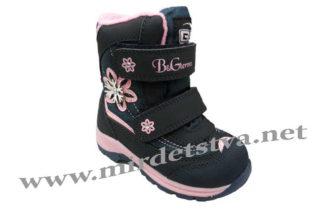Зимние мембранные ботинки на девочку B&G RAY195-62