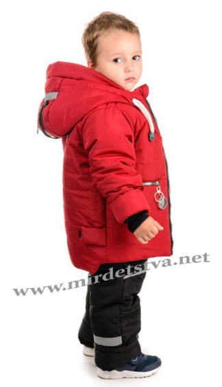 Качественный зимний комплект на мальчика Traveler Компас