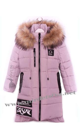 Красивое зимнее детское пальто на девочку Pavlin Music