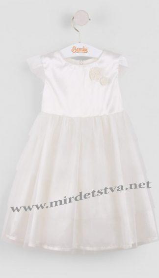 Нарядное платье для маленькой девочки Бемби ПЛ151