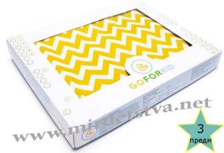 Постельное для новорожденных комплект 3-ка Сахара LC Goforkid 1330-210-910-1