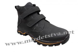 Кожаные зимние ботинки для подростка