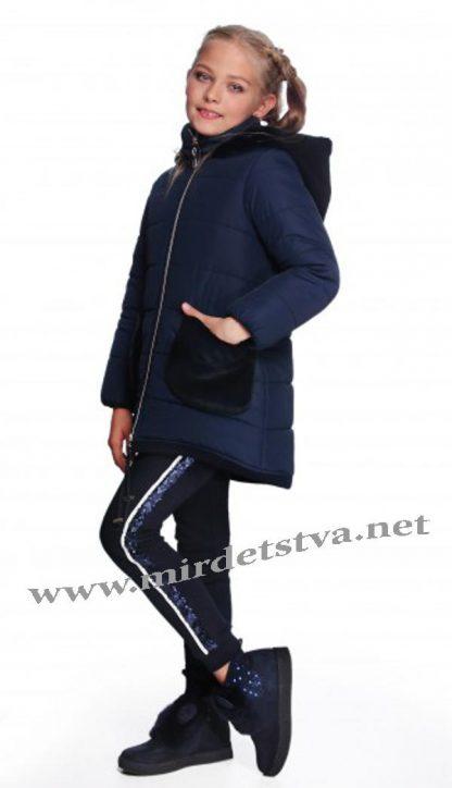 Пальто с меховыми карманами Lukas 7317