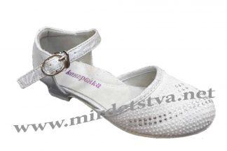 Туфли на каблуке для девочек Канарейка В0126-1