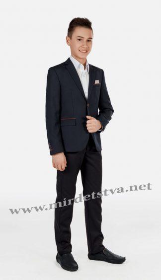 Утепленные джинсы для мальчика Новая форма Tven/VZ P023