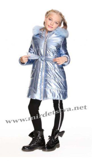 Зимнее пальто с натуральным мехом Lukas 8367