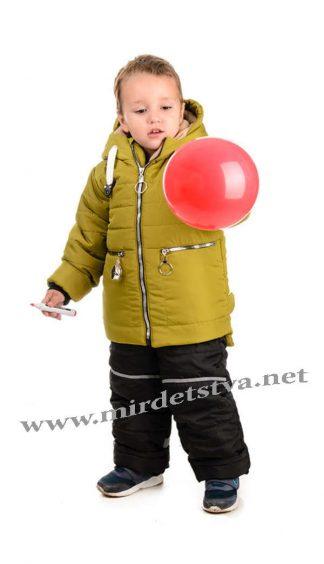 Зимний теплый комплект для мальчика Traveler Компас