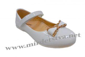 Белые лаковые туфли для девочек СКАЗКА R323034122