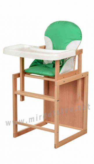 Деревянный стульчик для кормления Bambi CH-L3