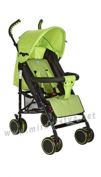 Детская прогулочная коляска-трость Bambi M 3426-5