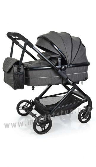 Коляска универсальная для новорожденных Bambi M 3895-11
