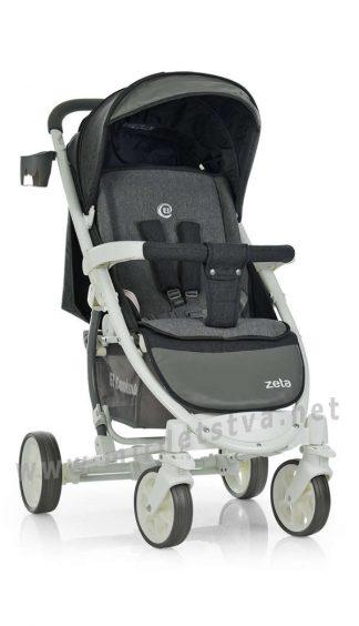 Компактная коляска детская EL CAMINO ME 1011L Zeta graphite