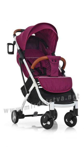 Легкая детская прогулочная коляска Bambi Yoga II M 3910-9