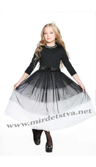 Нарядное длинное платье Lukas 8532