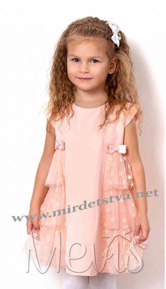 Нарядное платье из фатина для девочки в садик Mevis 2567-02